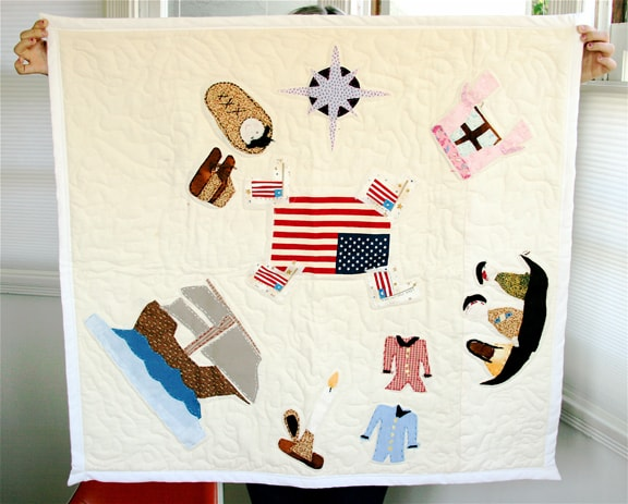 Early American History Timeline Quilt | Waterhouse Guild : quilting history timeline - Adamdwight.com